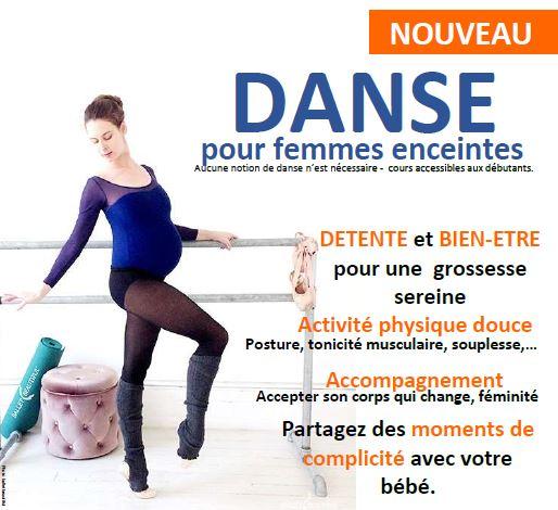 danse femme enceinte danse prénatale haguenau saverne alsace