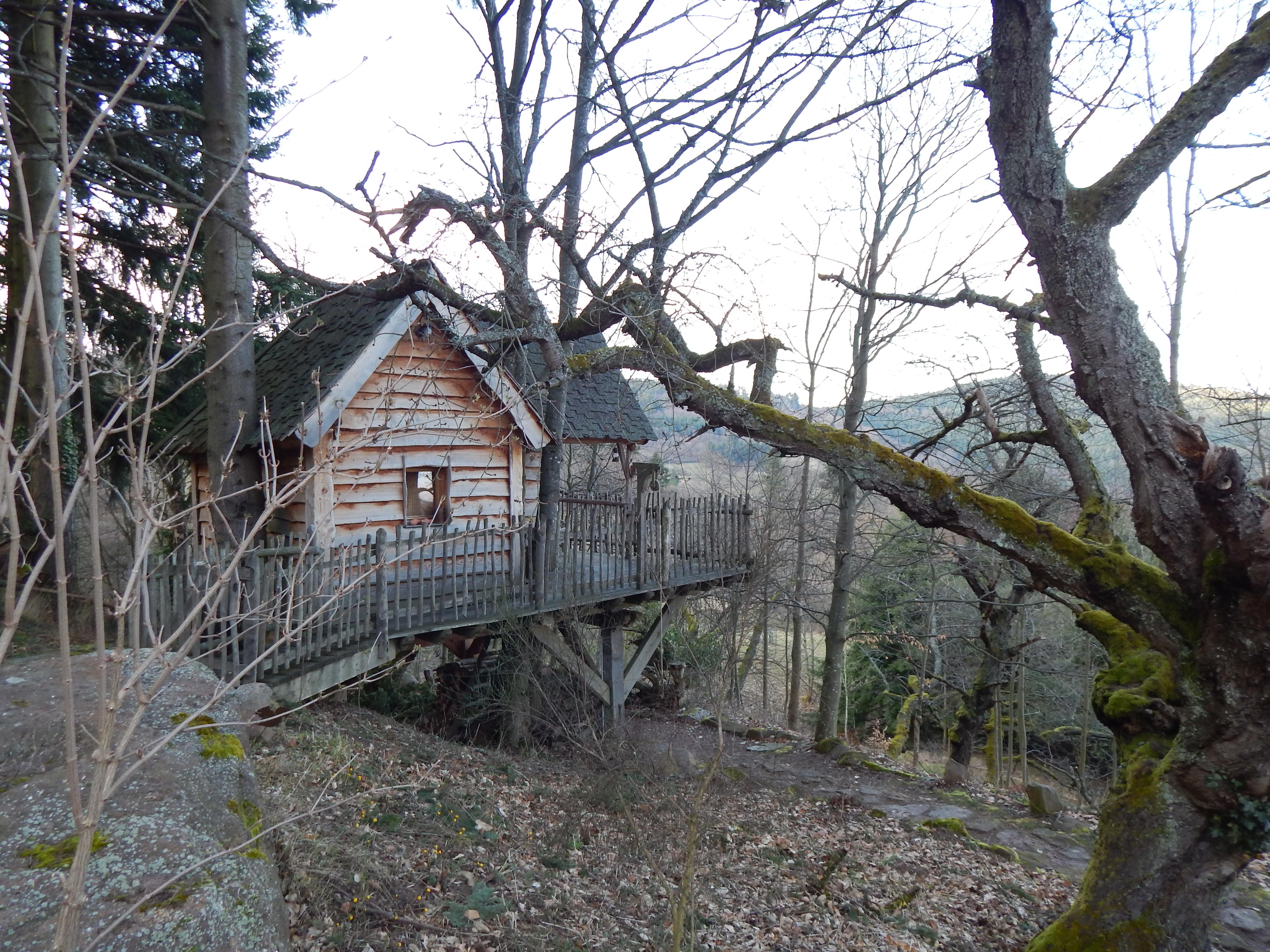 Les cabanes S en ciel, une belle découverte en Alsace