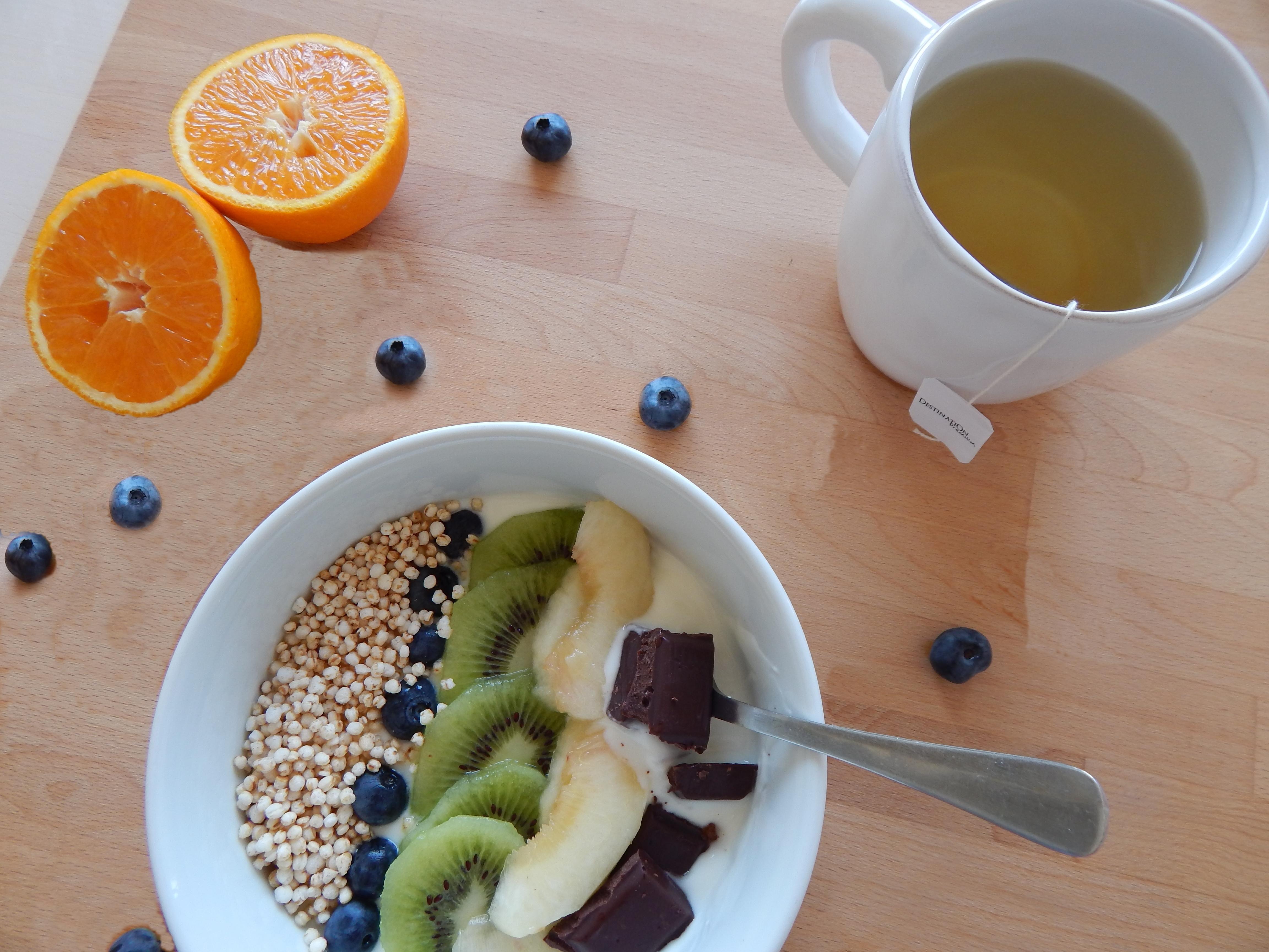 Un bon petit déjeuner healthy pour bien commencer la journée | produits la Cigale et la Fourmi