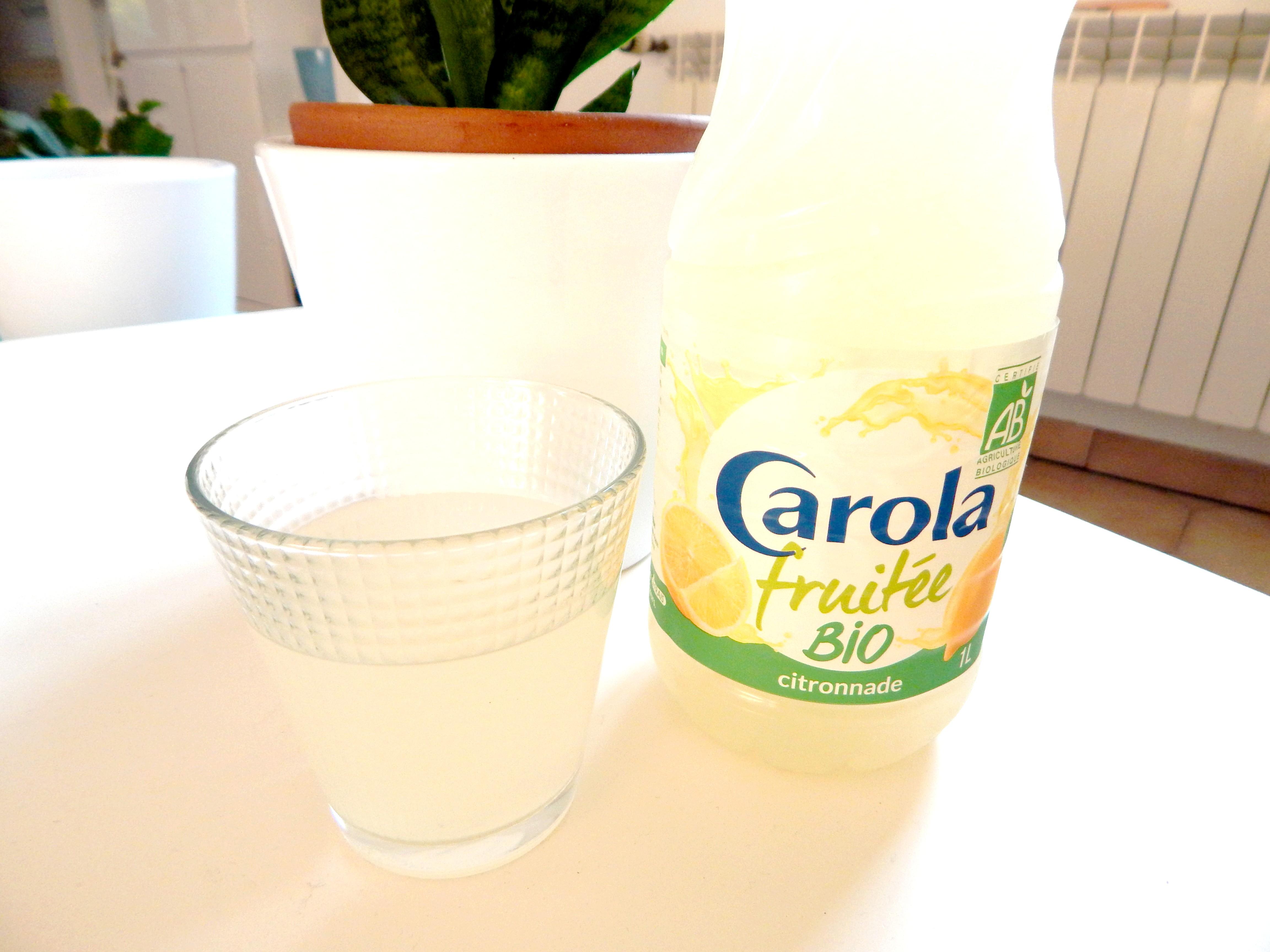 On a testé la CITRONNADE Carola fruitée bio (+recette soda citron)