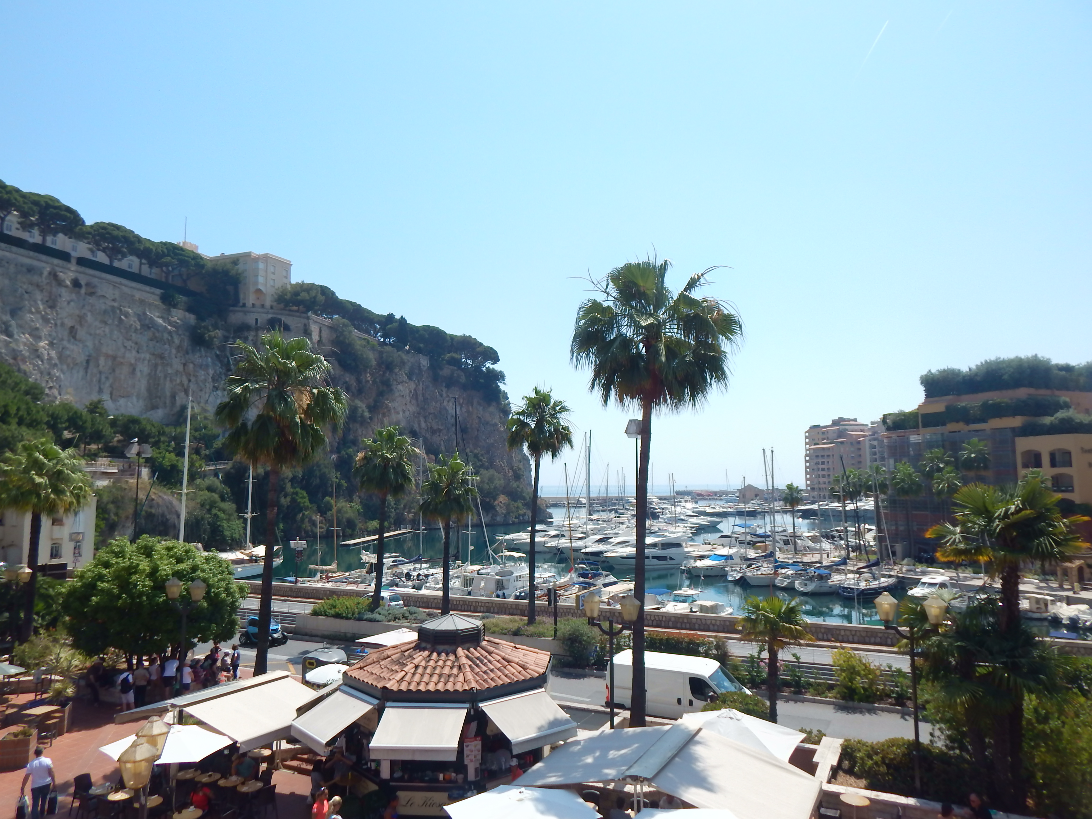 Monaco, jardin exotique_musée océanograohique…