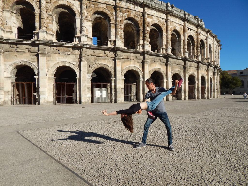 Parenthèse estivale à Nîmes et belles étapes dans le nord du Gard